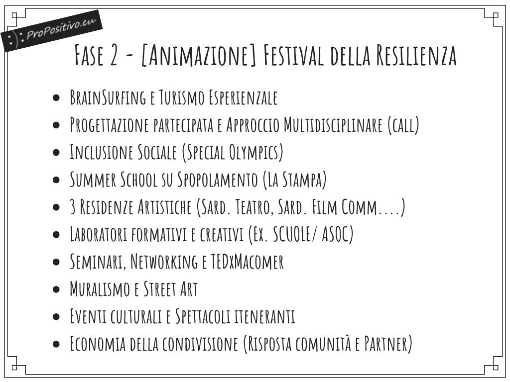 Master plan propositivo trasformare la crisi in opportunità festival della resilienza macomer sardegna spopolamento 12