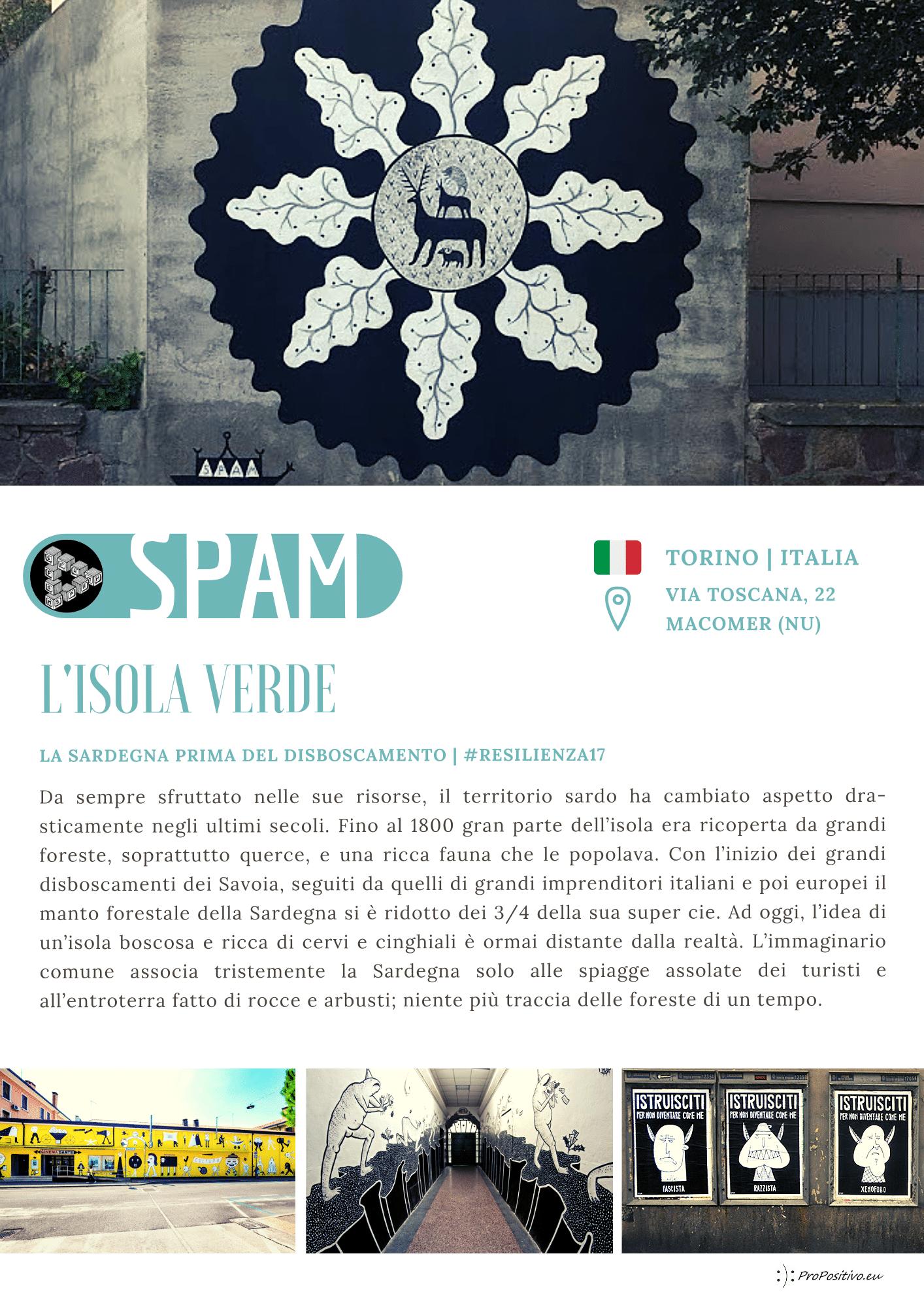 30 spam catalogo murales street art macomer sardegna festival resilienza propositivo