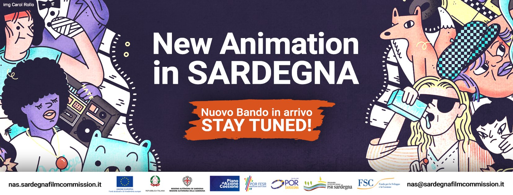 new animation in sardegna film commission