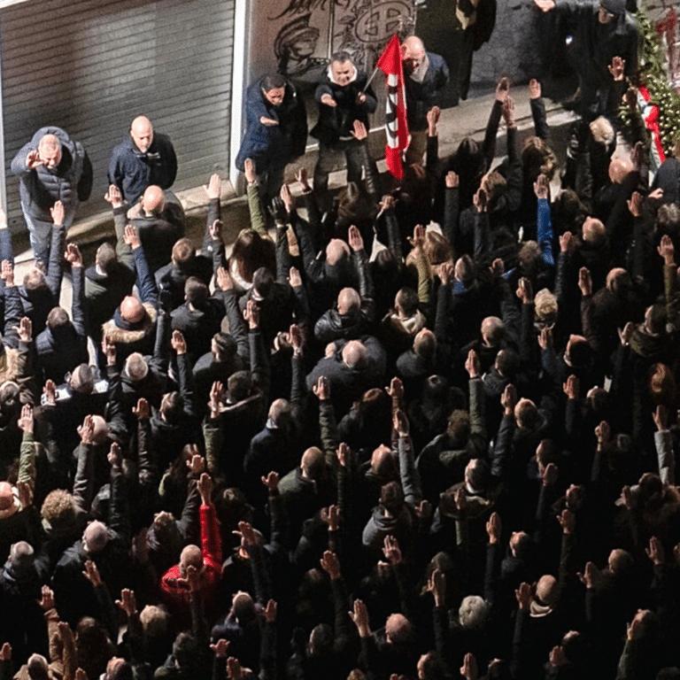fascismo roma acca alurentia 7 gennaio 2021 propositivo